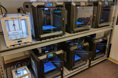 Some of the printers in the SWEM makerspace