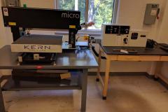 Kern Micro metal cutting laser system.