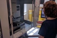 Natalie Does Some Machining