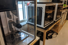 Airwolf3D Printers in Small Hall